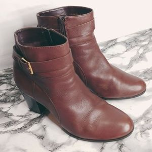 Cole Haan Women Ankle Booties 9.5 Boots Rhinecliff